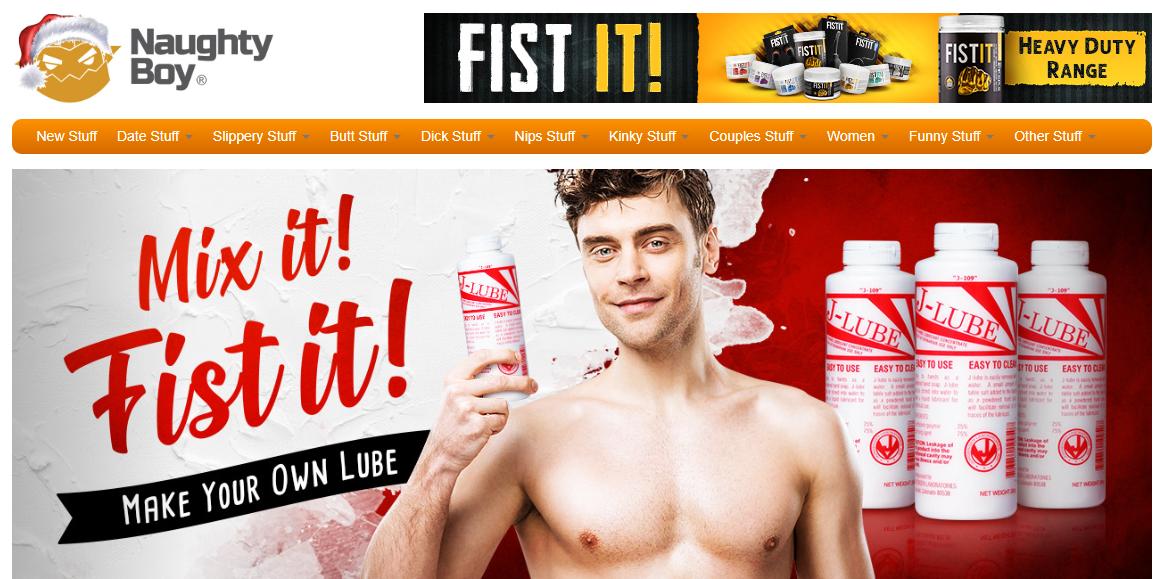 Naughty Boy Homepage