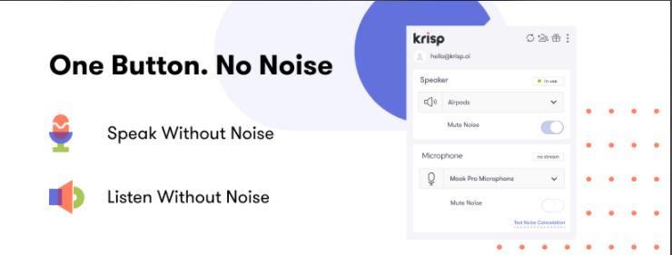 About Krisp Homepage