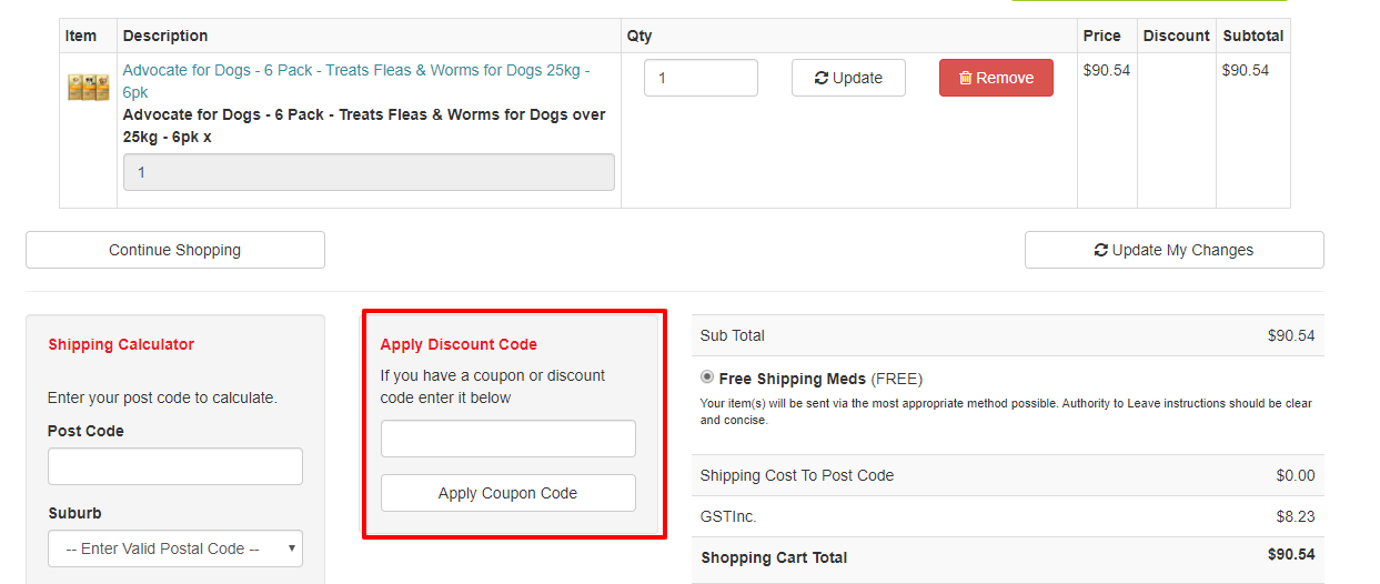 How do I use my Lucky Pet Supplies discount code?