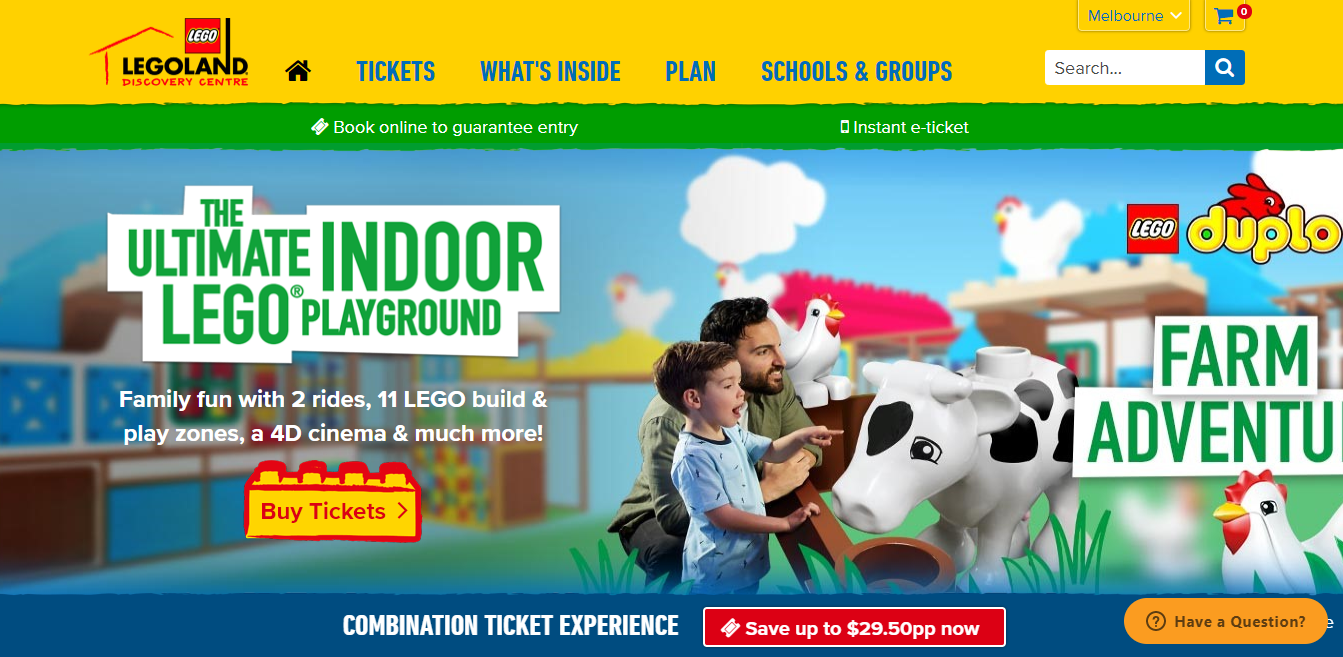 LEGOLAND® Discovery Centre Homepage