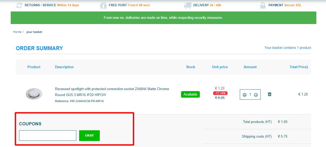 How do I use my SIAGEO-LED coupon code?