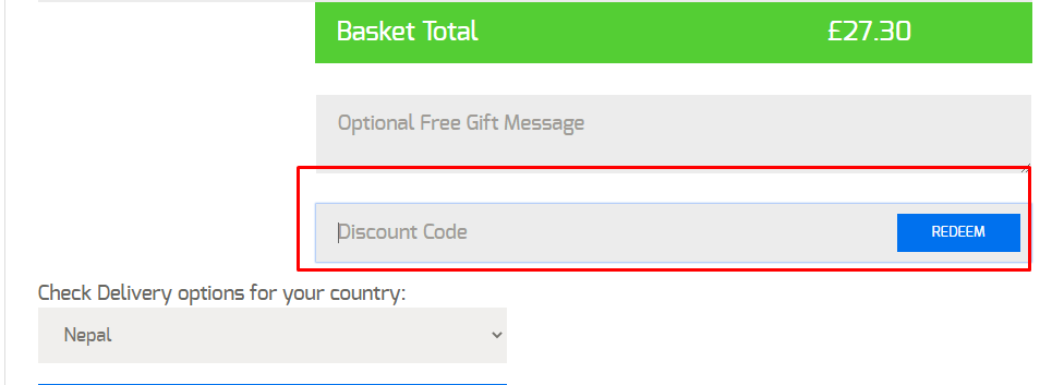 How do I use my Brand Shop coupon code?