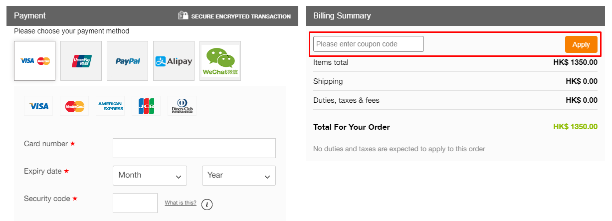 How do I use my CabinZero coupon code?