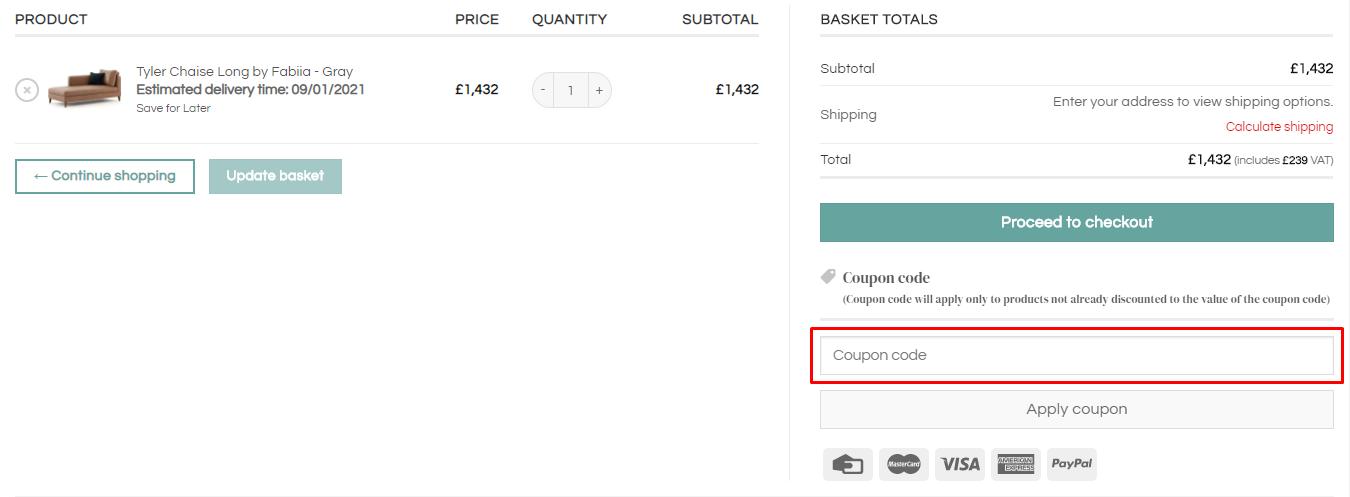 How do I use my Fabiia coupon code?