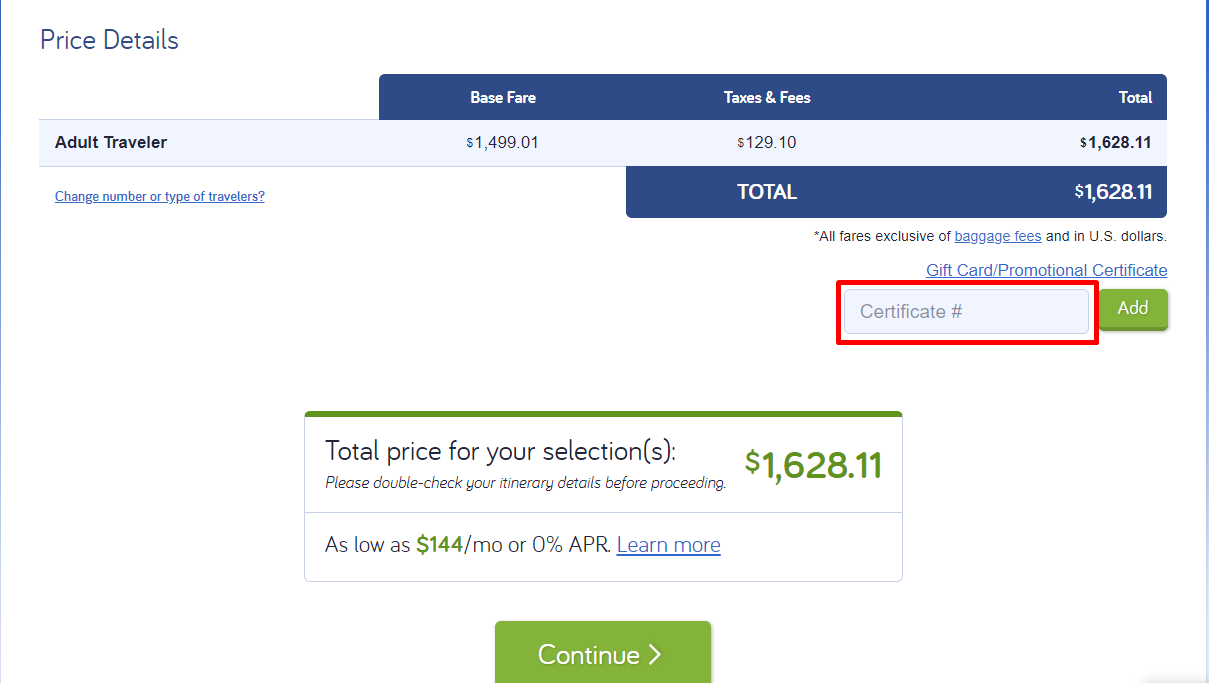 How do I use my CheapAir discount code?