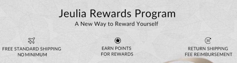 Jeulia Rewards prog