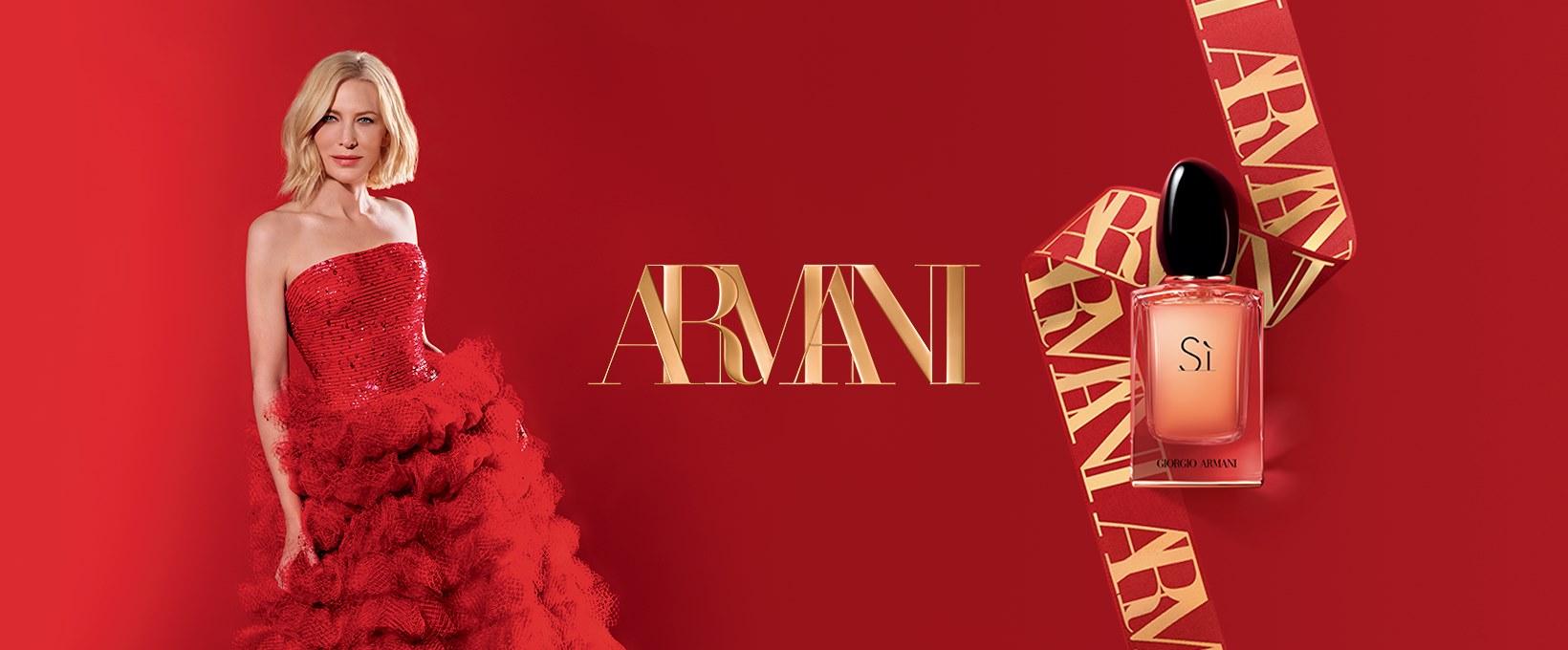 About Giorgio Armani Beauty Homepage