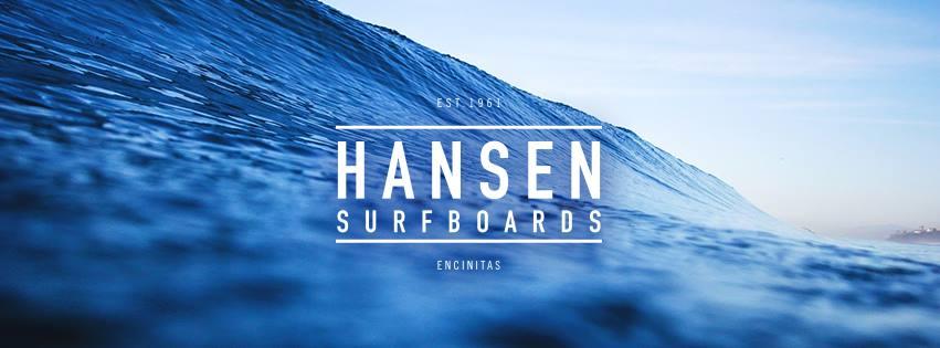 About Hansen Surfboards Homepage