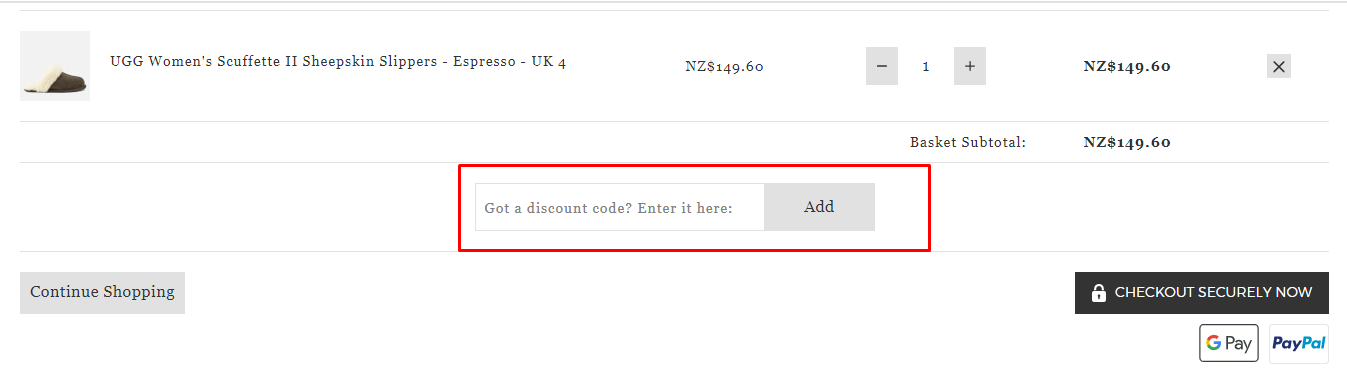How do I use my AllSole discount code?