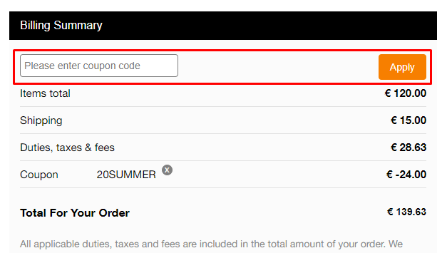 How do I use my Sachin & Babi coupon code?