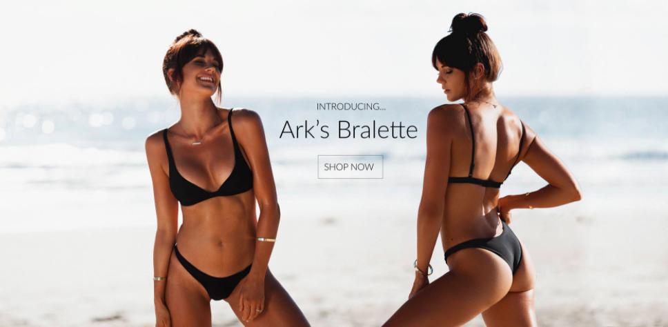 About Ark Swimwear Homepage