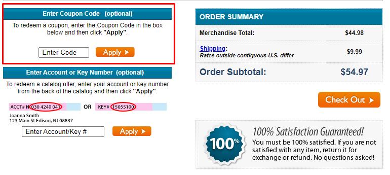How do I use my Carol Wright coupon code?