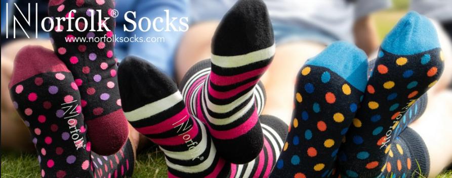 About Norfolk Socks homepage