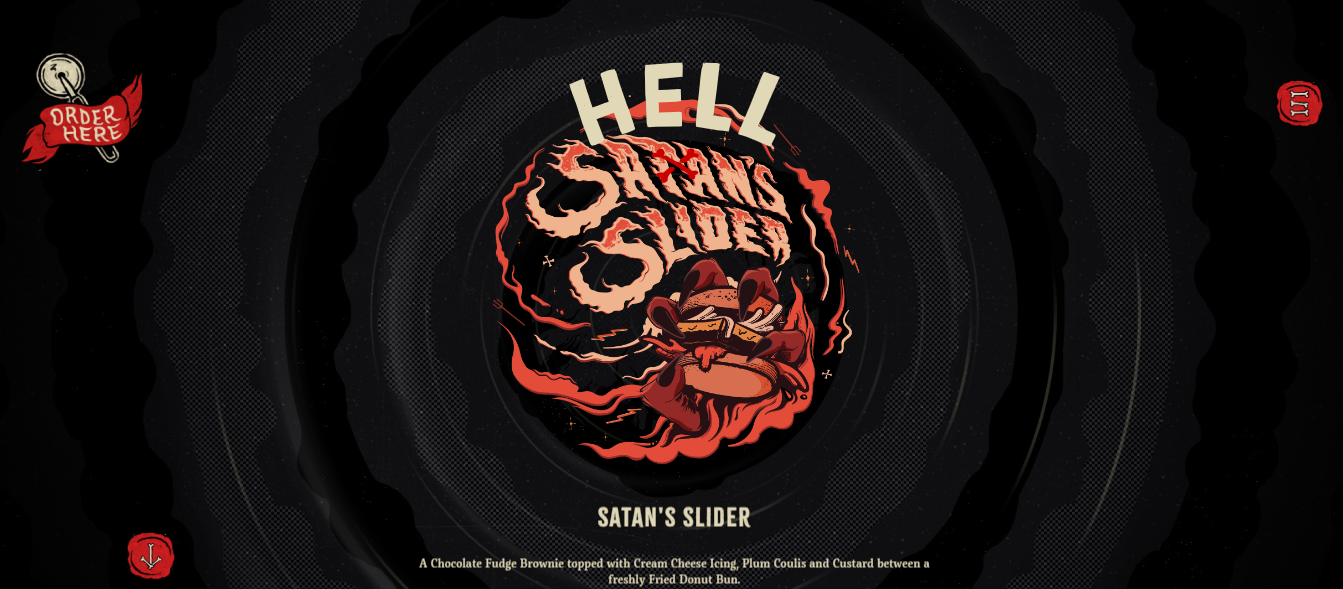 Hell Pizza Homepage