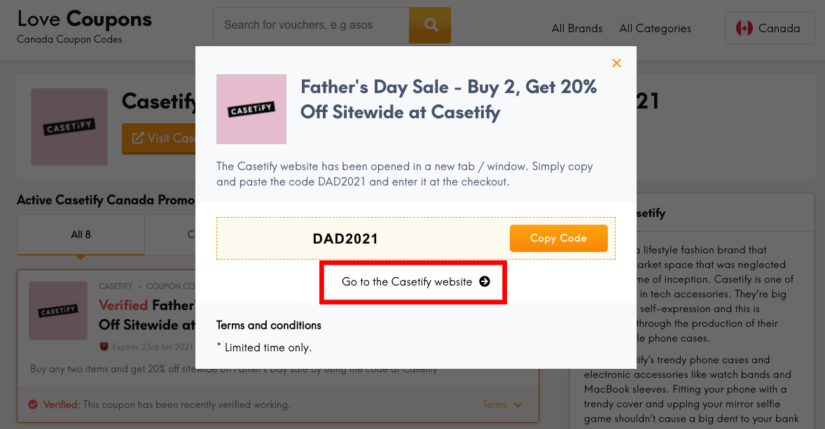 Casetify CA Get Coupon