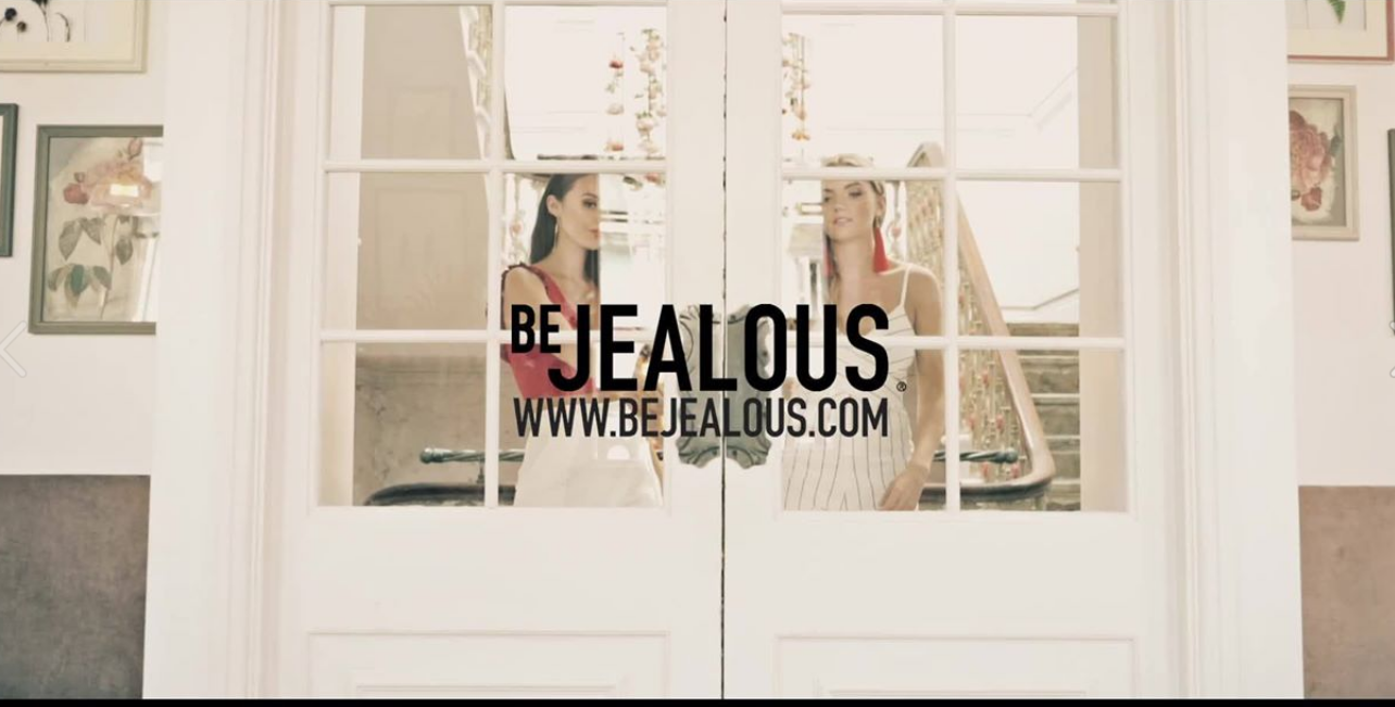 About Be Jealous Homepage