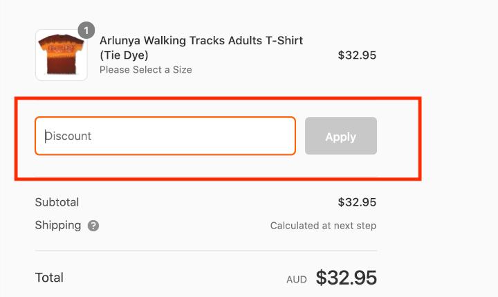 Australian Native T-Shirts Discount Code