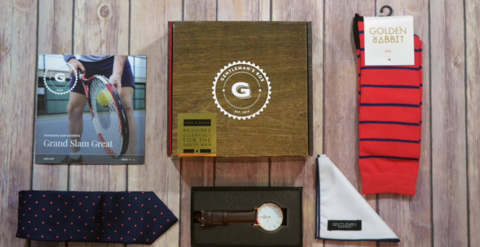 About Gentleman's Box Homepage
