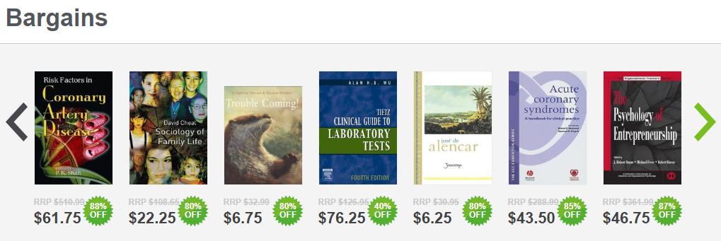 Booktopia Sales