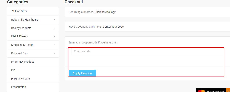 How do I use my Dock Pharmacy coupon code?