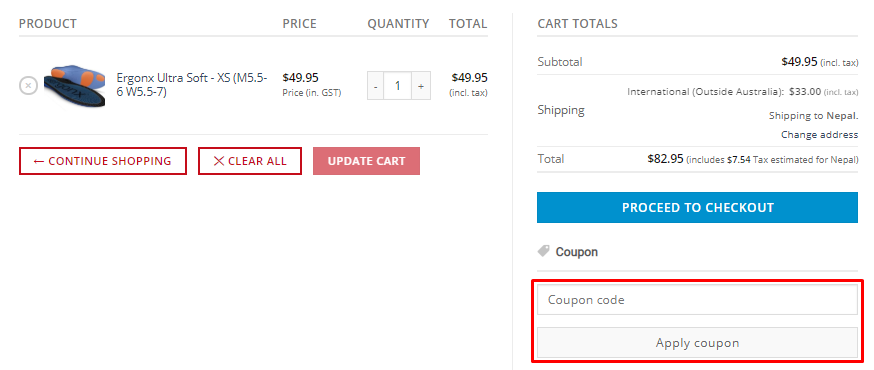 How do I use my Docpods coupon code?