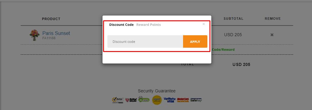 How do I use my FlowerAdvisor discount code?