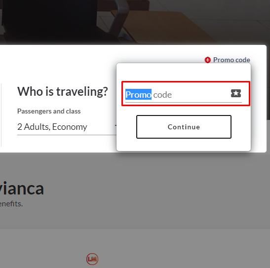 How do I use my Avianca discount code?