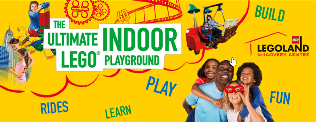 About LEGOLAND® Discovery Centre Homepage