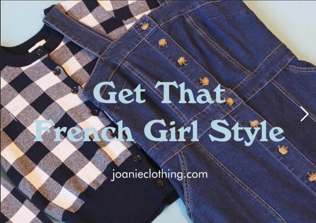 Joanie Homepage