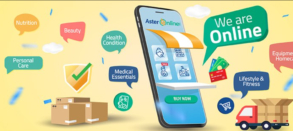 About Aster Online Homepage