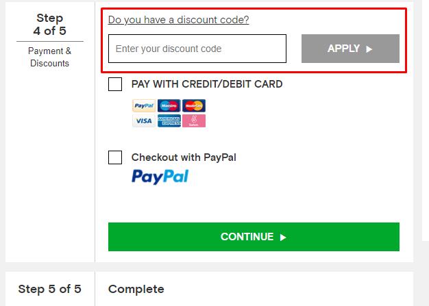 How do I use my Chelsea Football Club discount code?