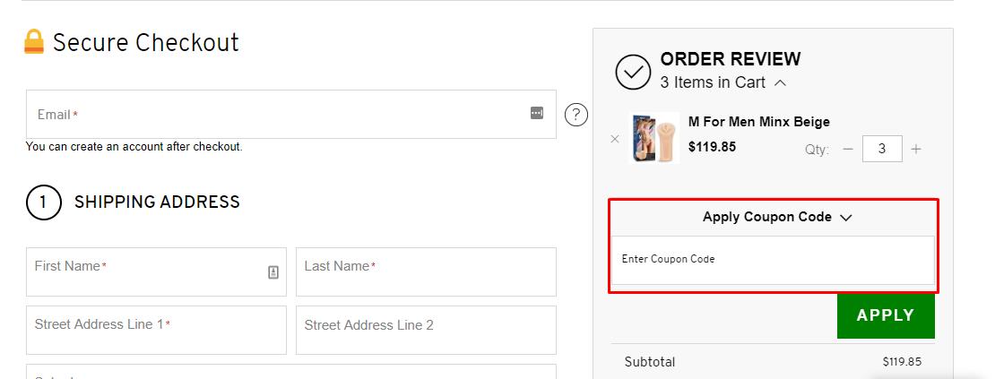 How do I use my ChemistDirect.com.au coupon code?
