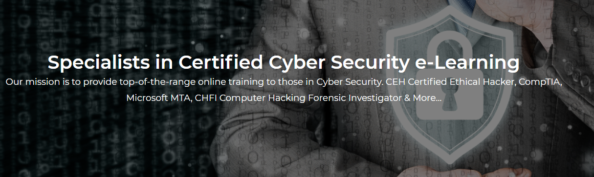 About Certified Cyber Security Courses Homepage