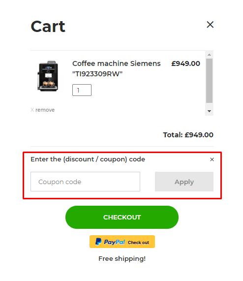 How do I use my Coffee Friend coupon code?