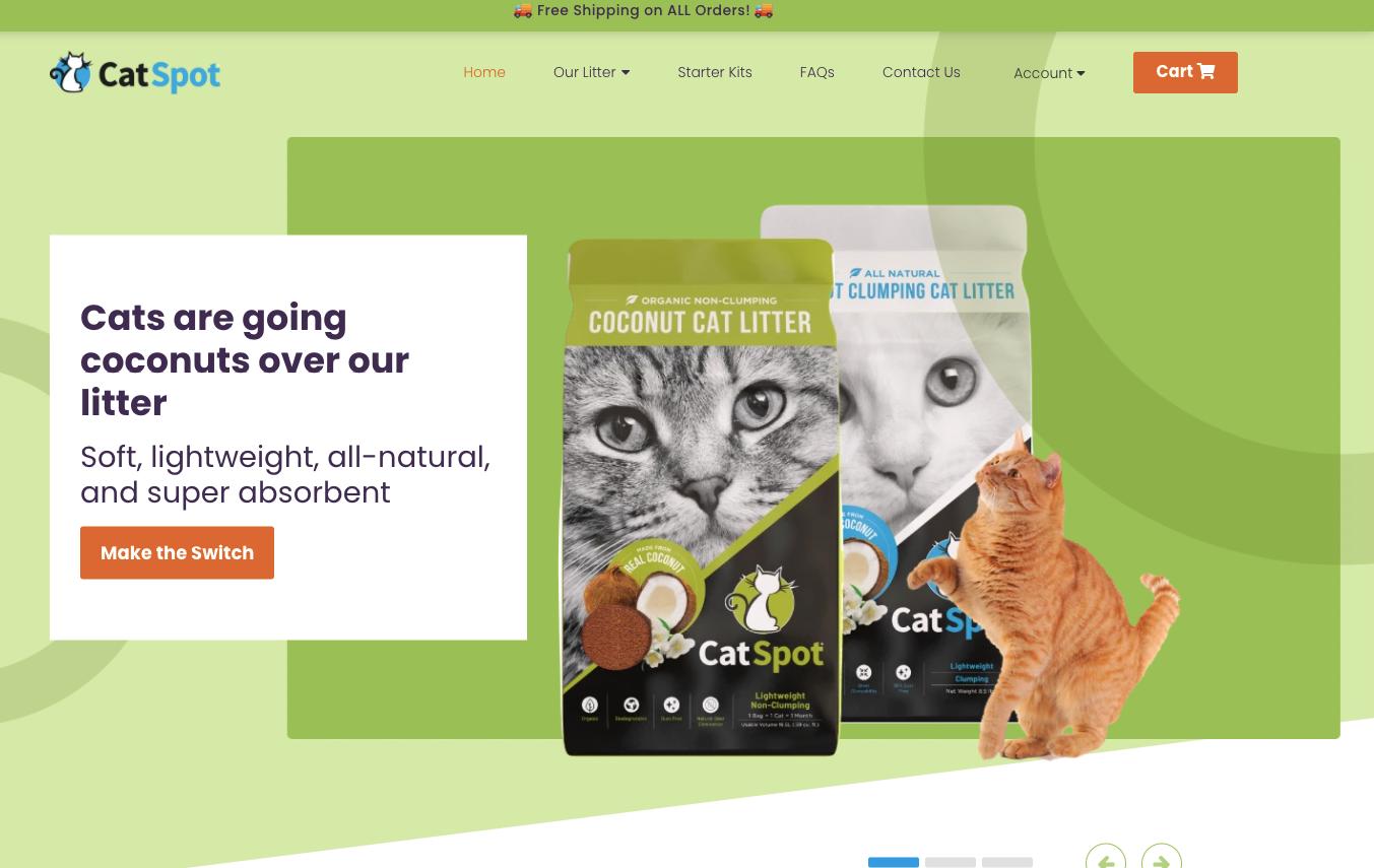 catspot about