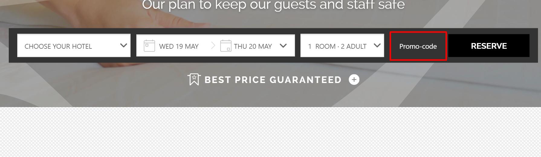 How do I use my Abba Hotels promo code?