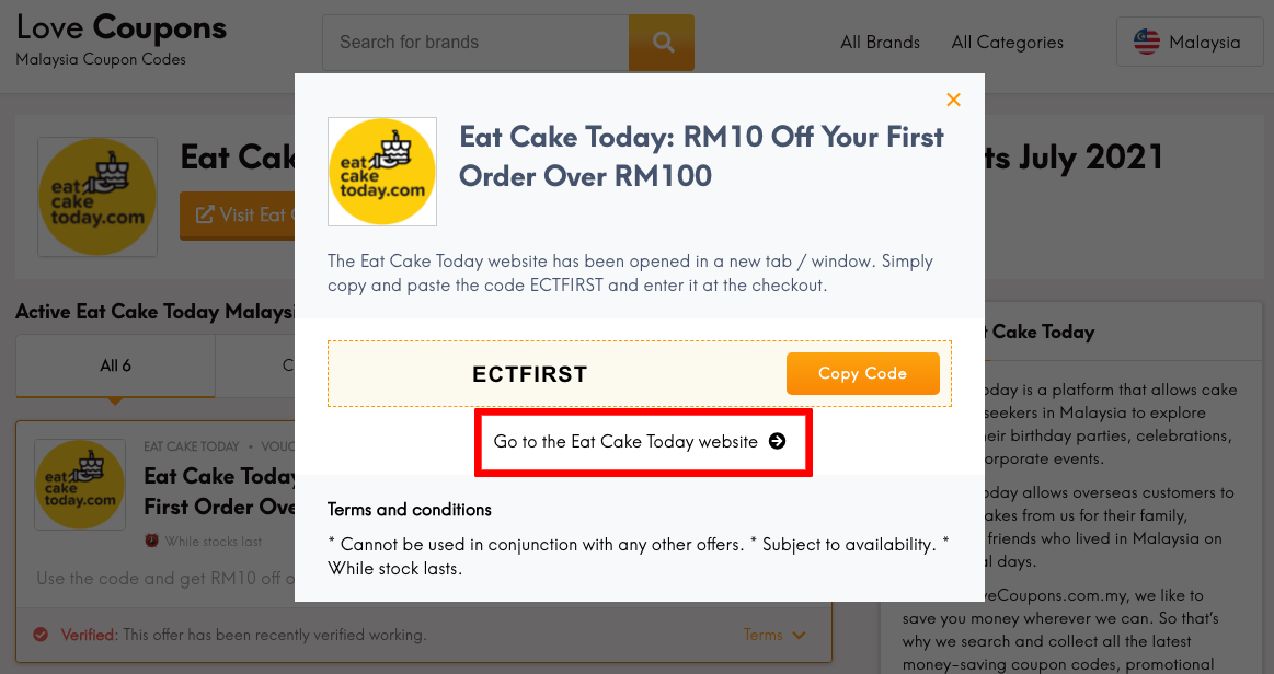 Eat Cake Today MY Get Code