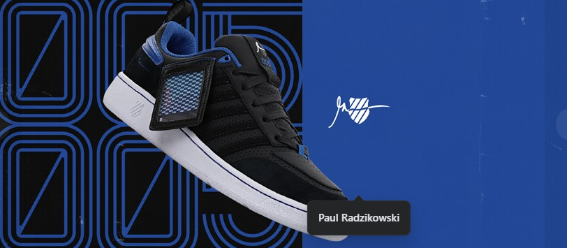 About K-Swiss Homepage