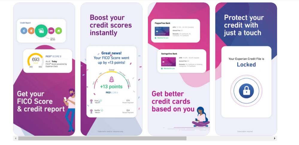 Experian Credit Report App