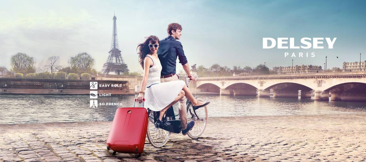 DELSEY Paris Homepage