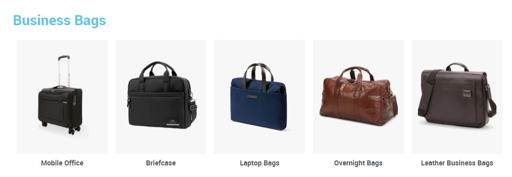 Luggage.co.nz Business Bags