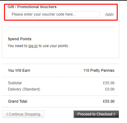 How do I use my Escentual discount code?