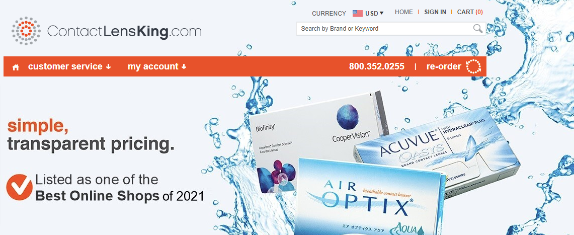 ContactLensKing About Us