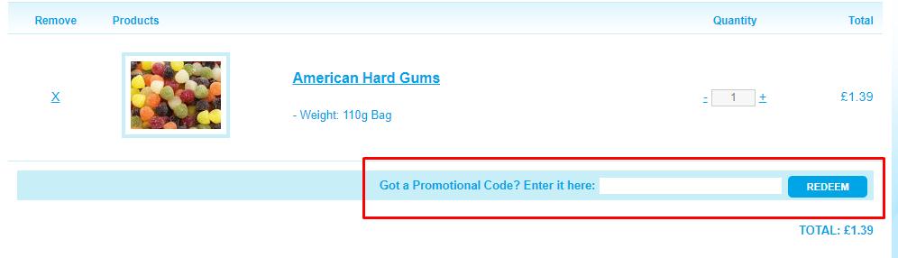 How do I use my Keep It Sweet coupon code?