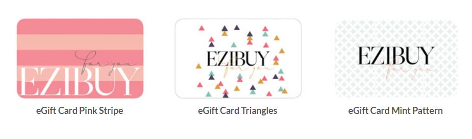 Ezibuy Gift cards