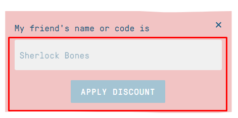 How do I use my Butternut Box discount code?