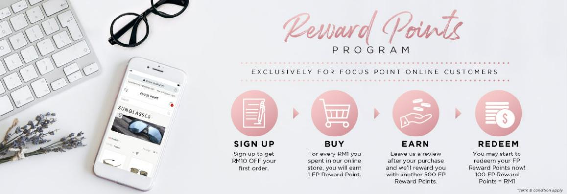 Focus Point Rewards