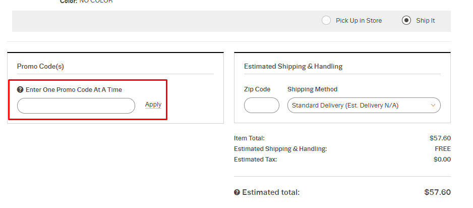 How do I use my Lord + Taylor promo code?