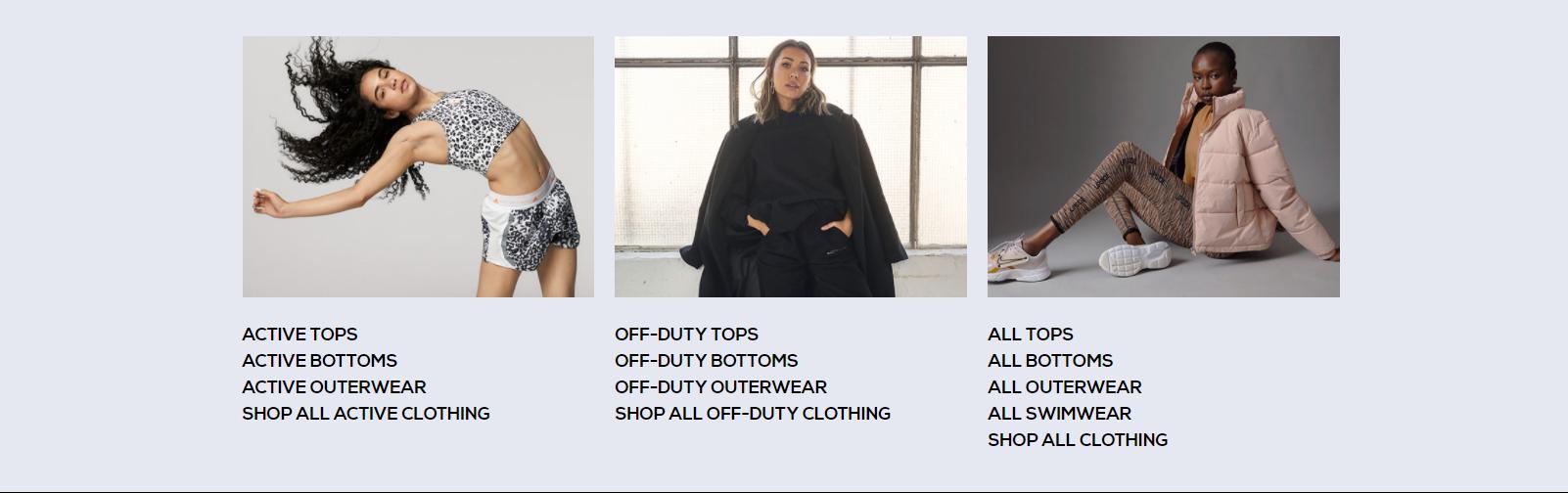 SR clothing