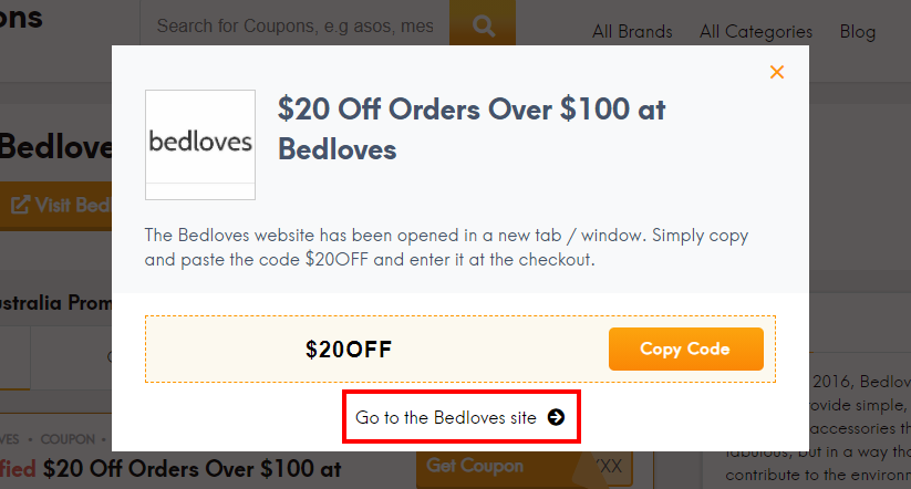 How do I use my Bedloves discount code?